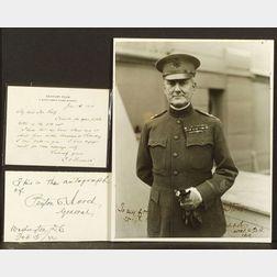 (World War I Generals and Figures)