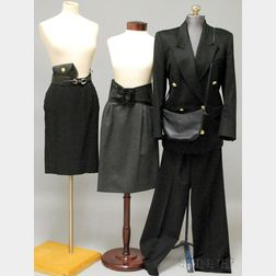 Assorted Designer Clothing and Accessories