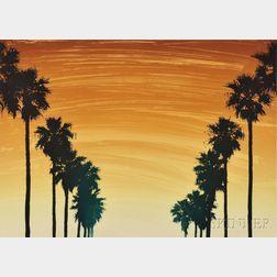 Mel Ramos (American, b. 1935)      Oakland:  Ode to Moe