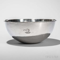 George III Sterling Silver Basin