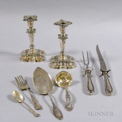 Group of Assorted Sterling Silver Flatware