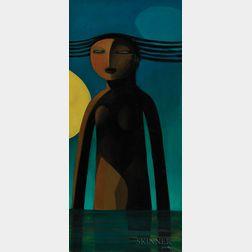 Khoo Sui Hoe (Malaysian, b. 1939)      Wondering at Night