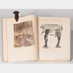 Rackham, Arthur, illus. (1867-1939) The Brothers Grimm's Little Brother & Sister and Other Tales  , Signed Limited Edition.