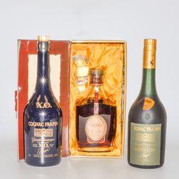 Frapin, 7 bottles (oc)