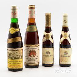 Mixed German Wines, 2 bottles2 demi bottles