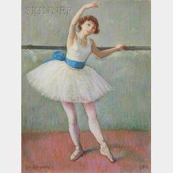Louis Kronberg  (American, 1872-1965)      Mlle. Mireille