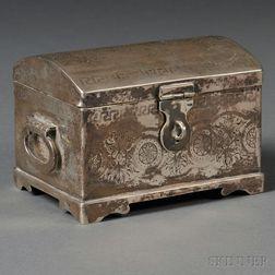 Russian .875 Silver Box