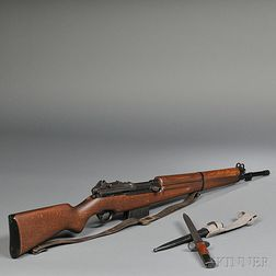 Fabrique Nationale Model 49 and Bayonet
