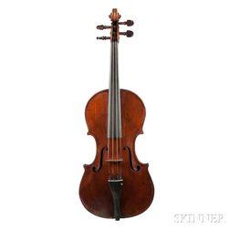 German Violin, Carl August Fritzsche, Dresden, 1820