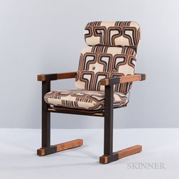 Graphic Cantilevered Chair