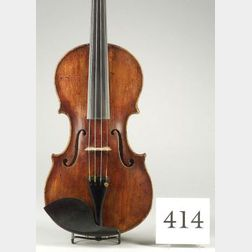 Violin, possibly Italian, Cappa School