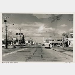 Nicholas Dean (American, b. 1933)      Four Views from Uniform Landscape-Brunswick ME   Series