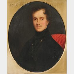American School, 19th Century      Portrait of Richard Varick