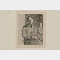 Jacques Villon (French, 1875-1963)      Monsieur Patrelle