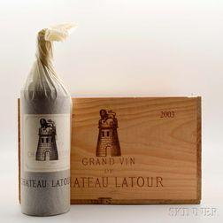 Chateau Latour 2003, 6 magnums (owc)