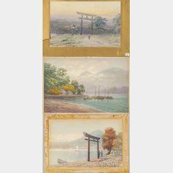Six Watercolors