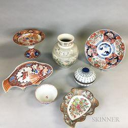 Seven Asian Ceramic Items