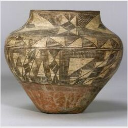 Southwest Painted Pottery Jar