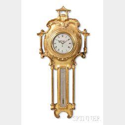 John Taylor Gilt Cartel Clock