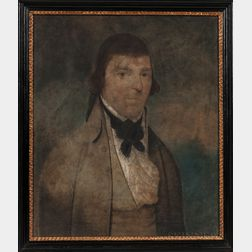Anglo/American School, Late 18th Century      Portrait of a Man