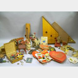 Group of 19th and Early 20th Century Toys and Collectibles