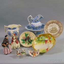 Eleven Assorted Decorative Ceramic Items