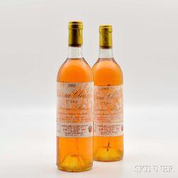 Chateau Climens 1980, 2 bottles