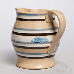 Yellow-bodied Baluster-form Jug