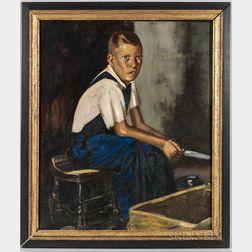 George Luks (American, 1867-1933)      Henry