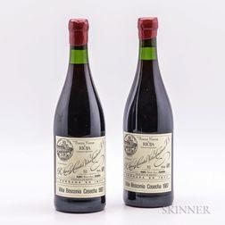 R. Lopez de Heredia Vina Bosconia Gran Reserva 1987, 2 bottles