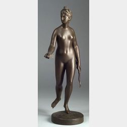 After Jean-Antoine Houdon (French, 1741-1828)    Diana the Huntress.