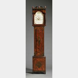 Riley Whiting Painted Tall Clock