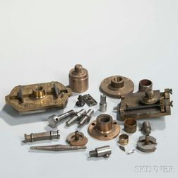 Group of Lathe Attachments