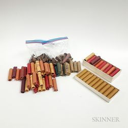 Seventy Rolls of Lincoln Cents and Eight Rolls of Nickels
