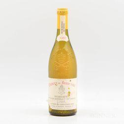 Chateau de Beaucastel Chateauneuf du Pape Blanc Roussanne Vieilles Vignes 1987, 1 bottle