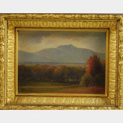 Attributed to Benjamin Champney (American, 1817-1907)      New Hampshire in Autumn.
