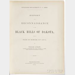 Ludlow, William (1843-1901) Report of a Reconnaissance of the Black Hills of South Dakota, Made in the Summer of 1874.