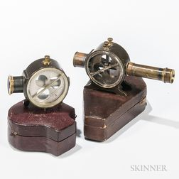 Two L. Casella Cased Clinometers