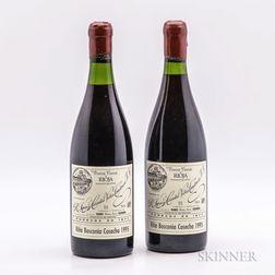 R. Lopez de Heredia Vina Bosconia Gran Reserva 1995, 2 bottles