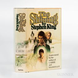 King, Stephen (b. 1947) The Shining  , First Edition.