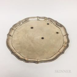 German .800 Silver Tray