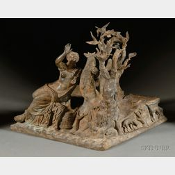 Grand Tour Bronze Figural Group