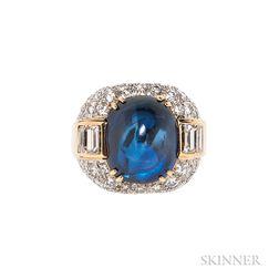 Sapphire and Diamond Ring, David Webb