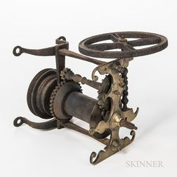 Brass and Iron Clock Jack