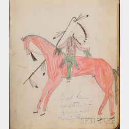 Plains Indian Pictograph Book