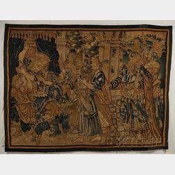 Large Flanders Wool Tapestry