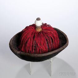 Fur-brimmed Winter Hat