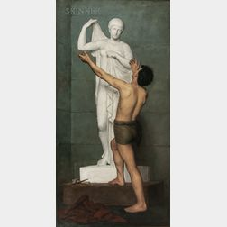 Robert Cutler Hinckley (American, 1853-1941)      Pygmalion and Galatea