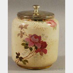 Royal Doulton Burslem Biscuit Jar
