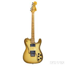 Fender Telecaster Deluxe Electric Guitar, 1978, serial no. S806125, Antigua finish.